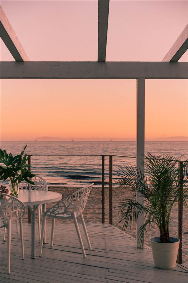 Luxury homes in rare opportunity on the sand in Montecito