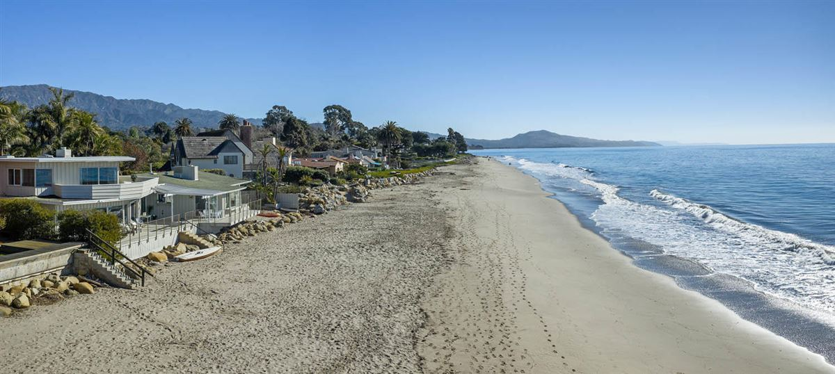 Luxury properties rare opportunity on the sand in Montecito
