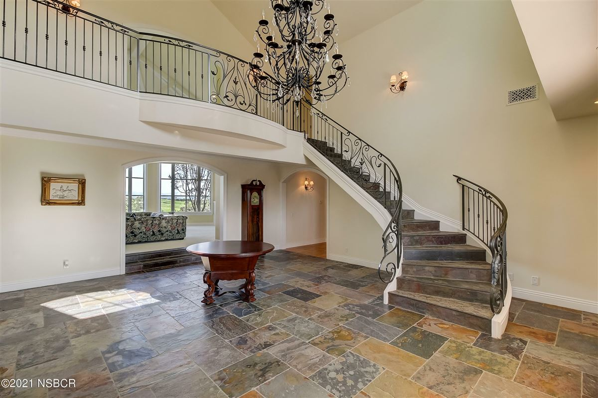 Luxury real estate French inspired custom home in Rancho Ynecita