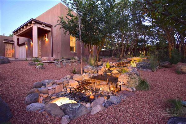 Luxury homes jaw-dropping Santa Fe hacienda and casita