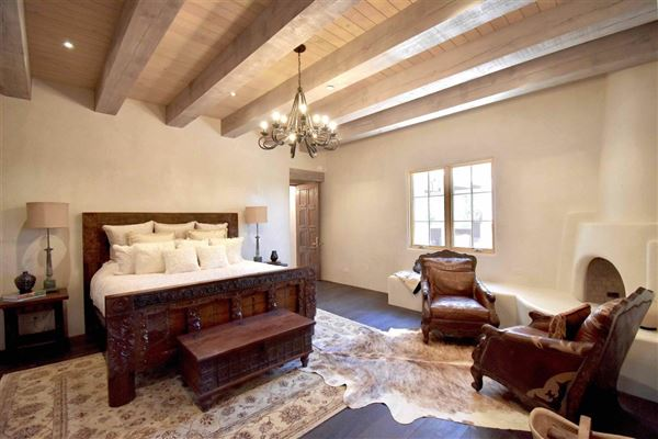 Luxury homes in jaw-dropping Santa Fe hacienda and casita