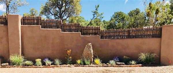 Luxury real estate jaw-dropping Santa Fe hacienda and casita