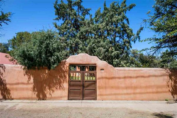 Luxury properties authentic Santa Fe