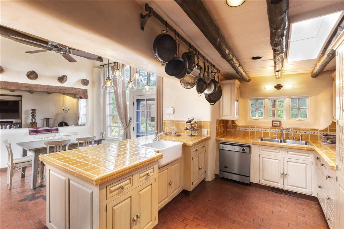 Luxury real estate rare move-in ready walled adobe estate