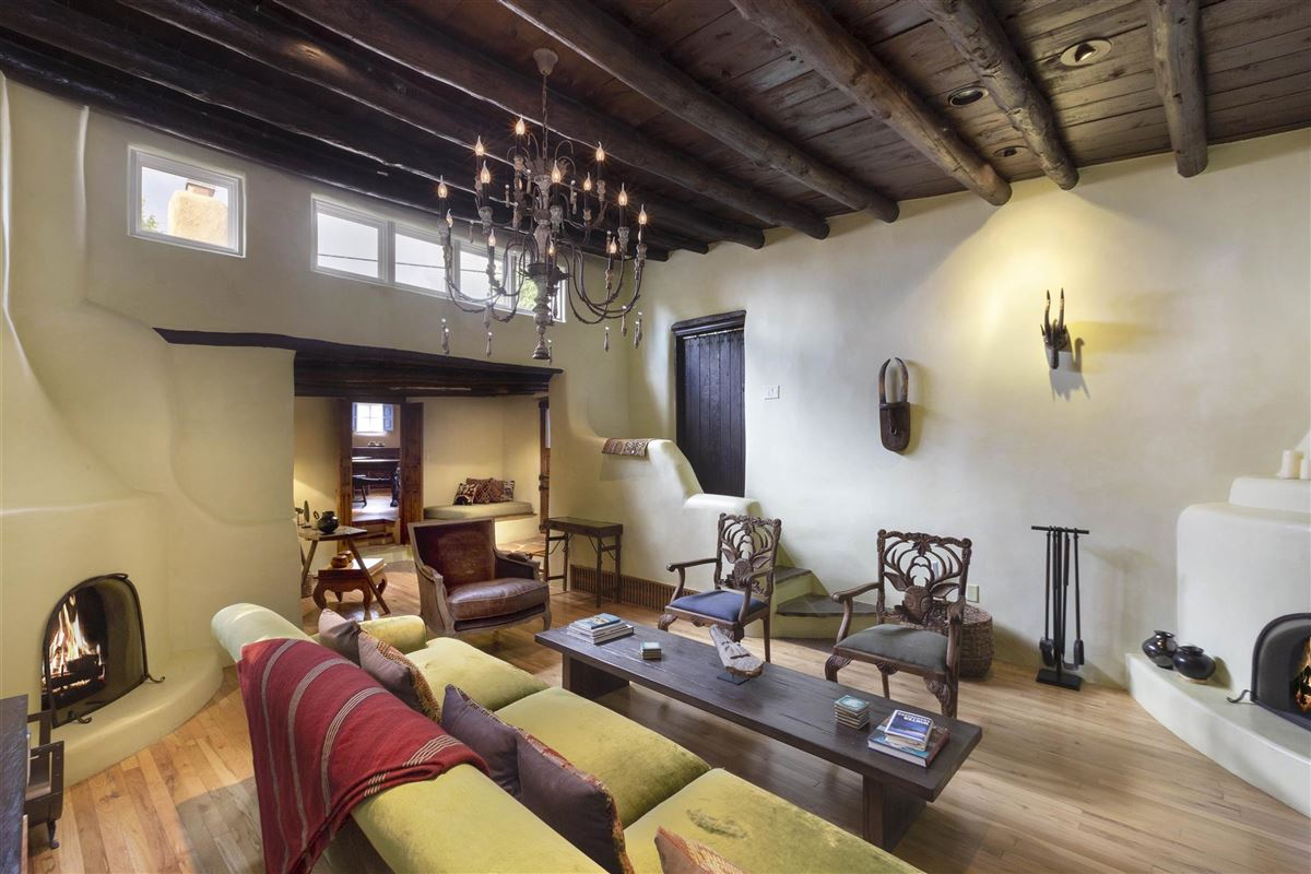 Luxury homes in rare move-in ready walled adobe estate