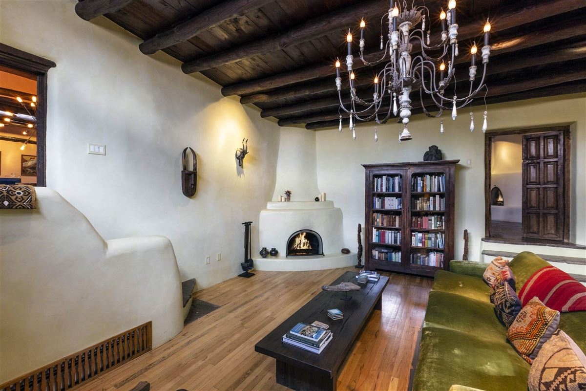 Mansions in rare move-in ready walled adobe estate