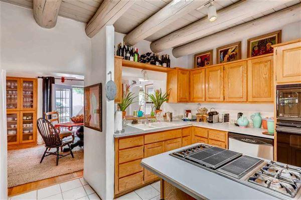 Classic Santa Fe adobe compound luxury homes