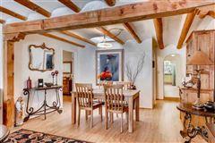 Luxury homes Classic Santa Fe adobe compound