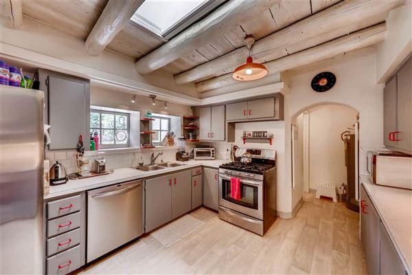 Classic Santa Fe adobe compound luxury properties