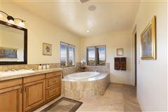 single level custom-built home luxury homes