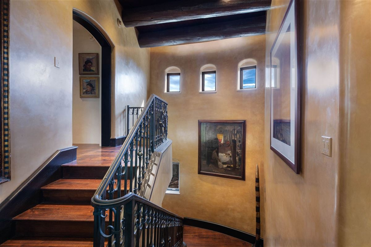 Luxury real estate astoundingly beautiful gated santa fe estate