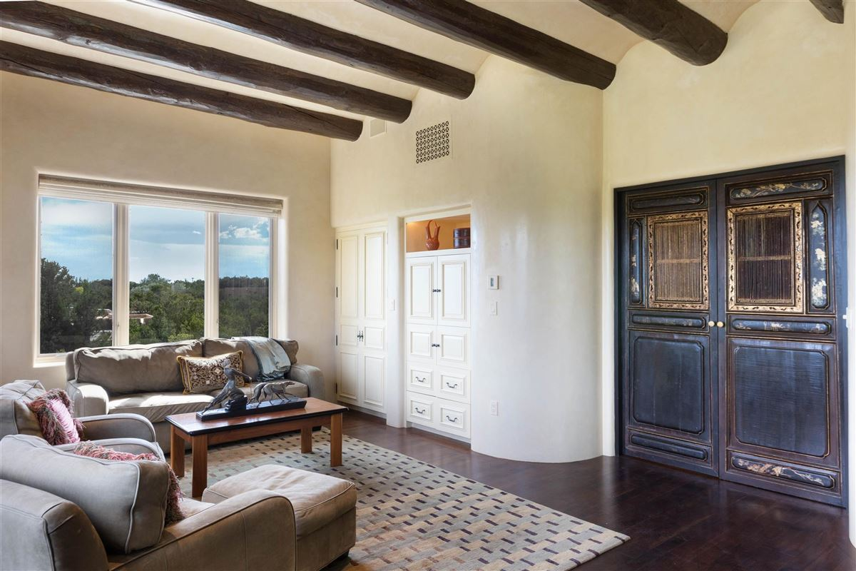 Luxury properties astoundingly beautiful gated santa fe estate