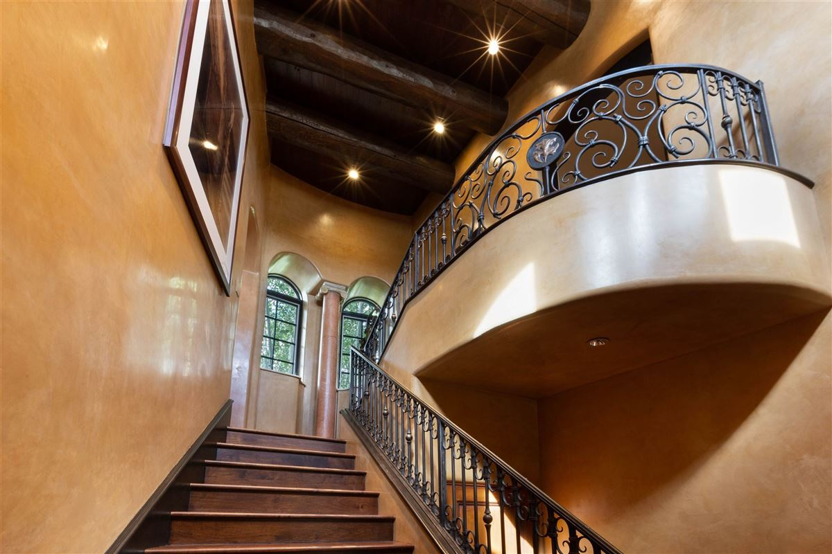 Mansions astoundingly beautiful gated santa fe estate