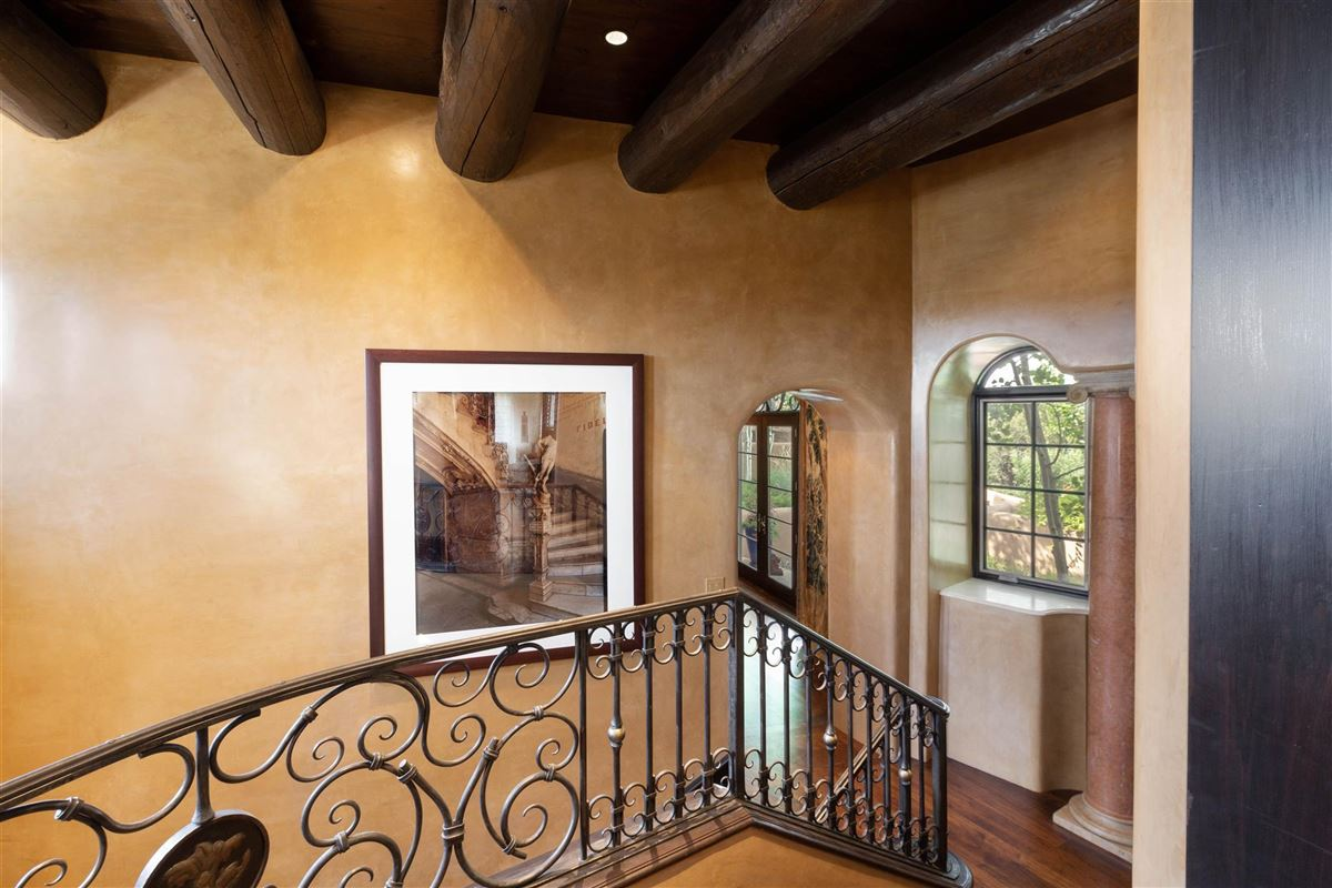 astoundingly beautiful gated santa fe estate mansions