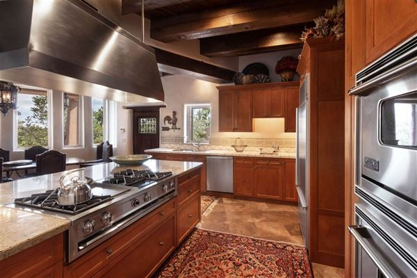 Mansions in astoundingly beautiful gated santa fe estate