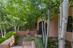 Mansions astoundingly beautiful gated santa fe estate