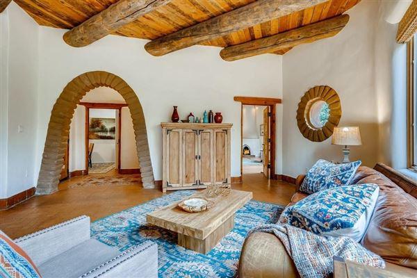 Luxury real estate astoundingly beautiful gated santa fe estate