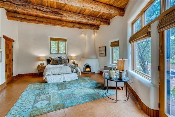 Luxury properties astoundingly beautiful gated santa fe estate