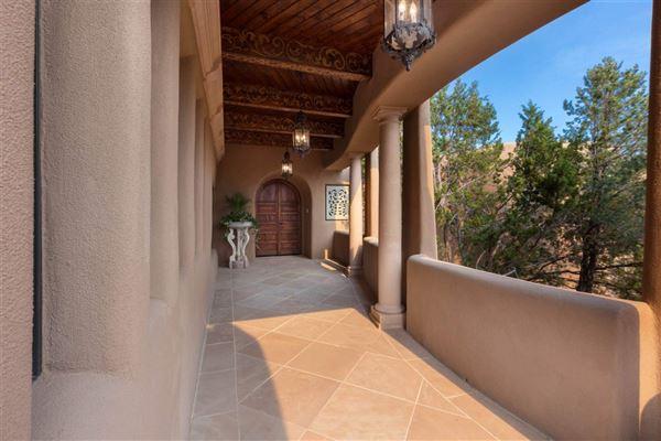astoundingly beautiful gated santa fe estate luxury homes
