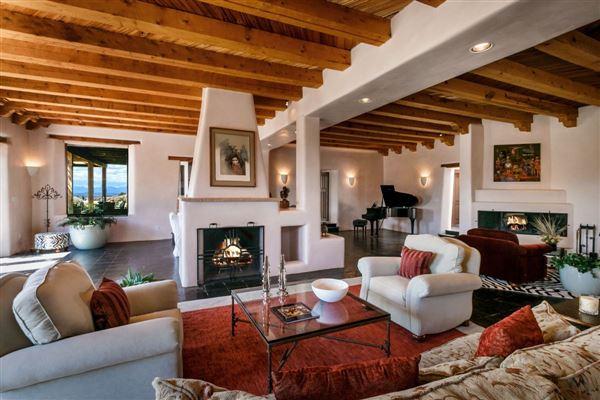 Gorgeous Territorial Adobe Estate New Mexico Luxury