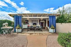 Mansions in remarkable home and guest house in Santa Fe