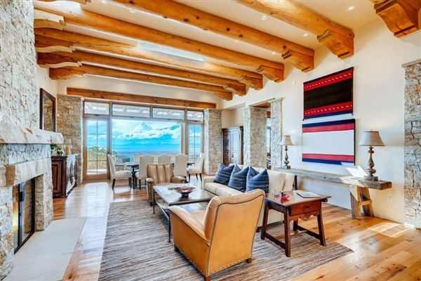 award-winning SANTA FE home in premier High Summit luxury properties