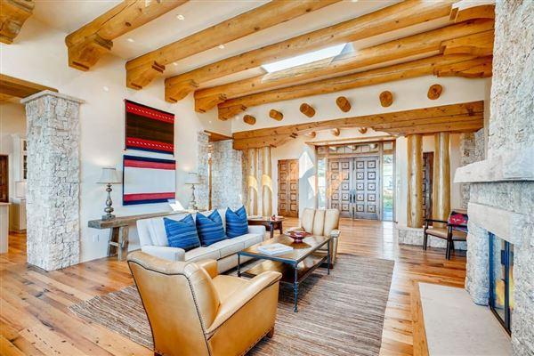 Mansions award-winning SANTA FE home in premier High Summit