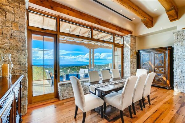 award-winning SANTA FE home in premier High Summit mansions