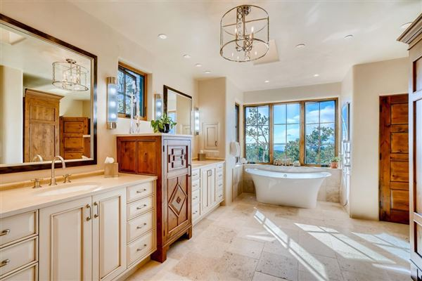 award-winning SANTA FE home in premier High Summit luxury real estate