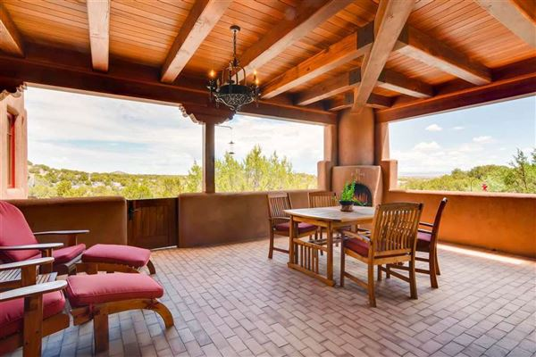 gracious home in Turquoise Trails luxury properties