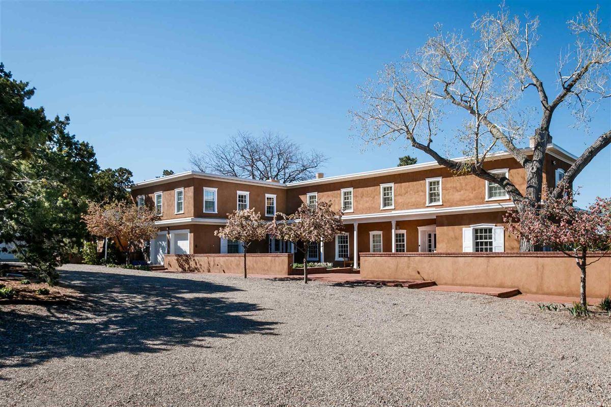 Luxury properties gated classic territorial estate