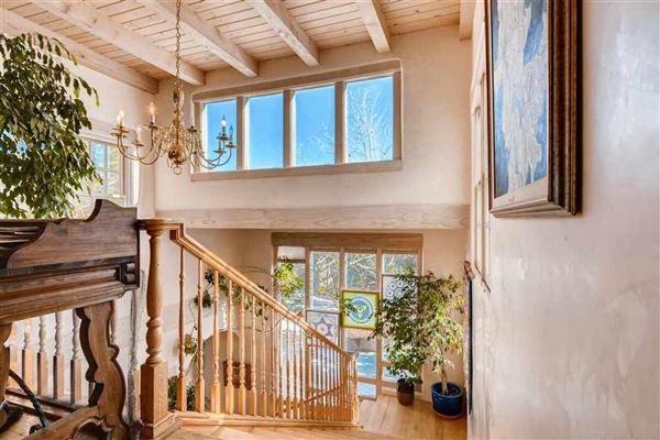 beautiful Santa Fe home  luxury real estate