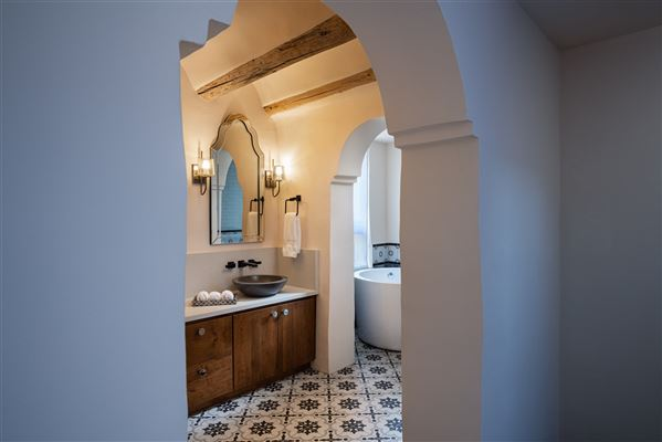 Luxury real estate secluded historic adobe home and guest house