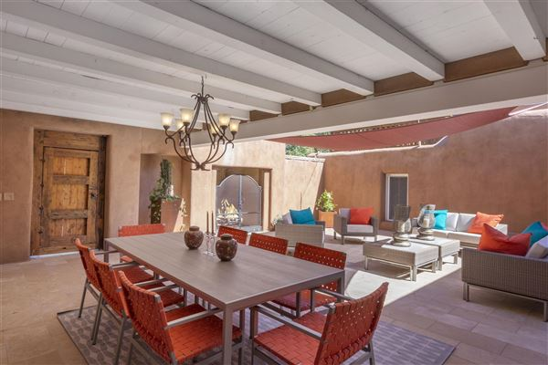 secluded historic adobe home and guest house luxury real estate