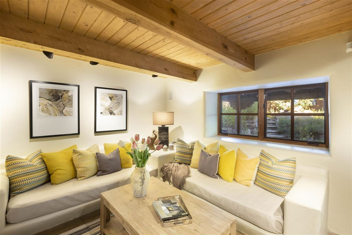 a sleepy Eastside lane in santa fe luxury real estate