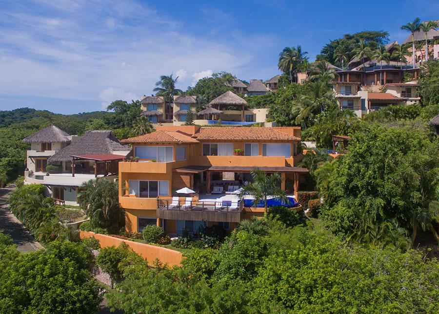 Ixtapa Ocean View Villa luxury real estate