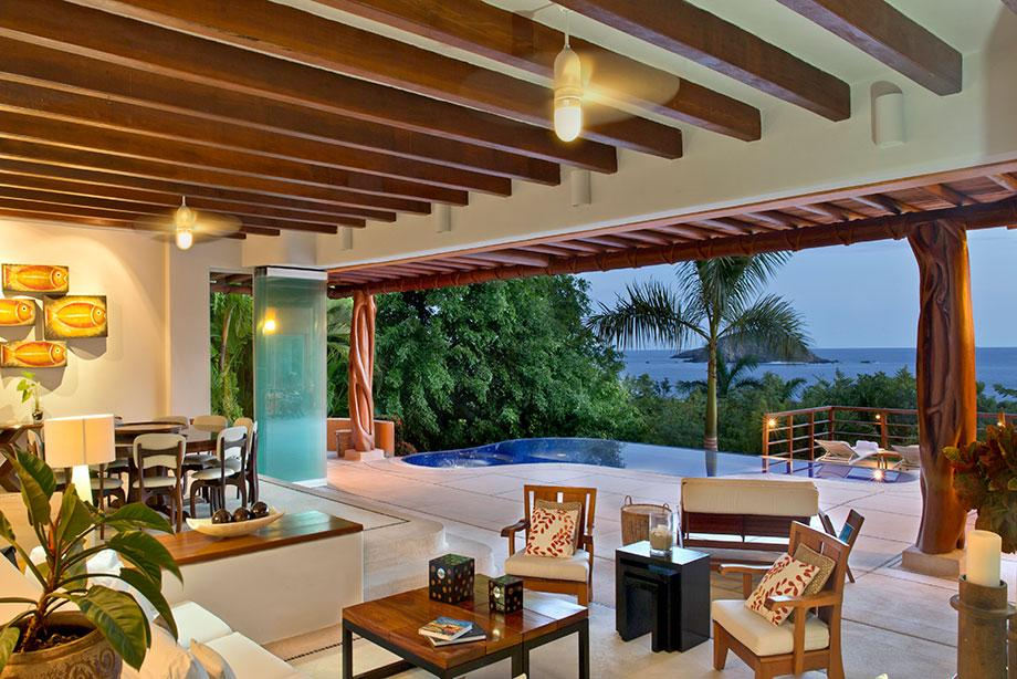 Luxury homes Ixtapa Ocean View Villa