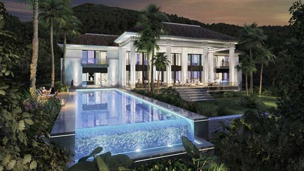 Splendid Contemporary Style Mansion Spain Luxury Homes