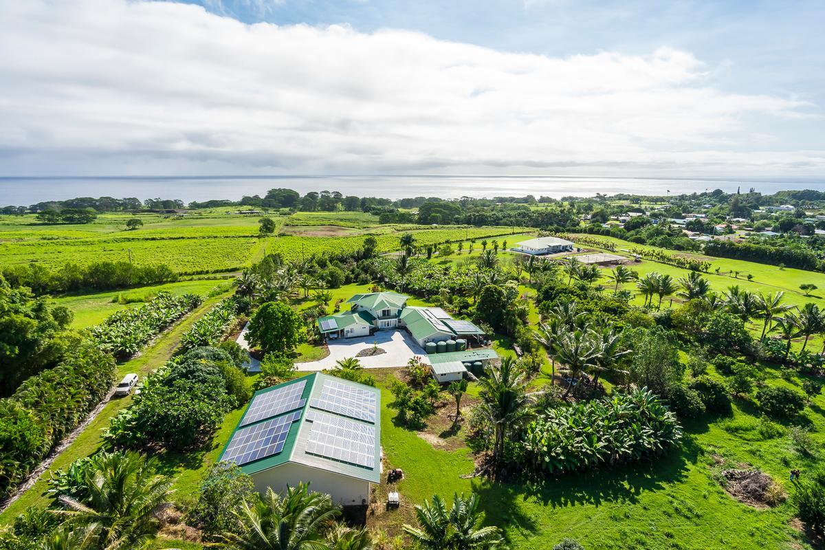 East Hawaii Ocean View Estate mansions