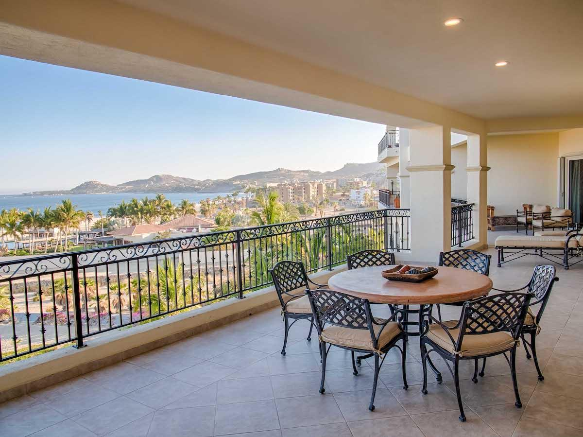 Luxury real estate penthouse style beachfront condo