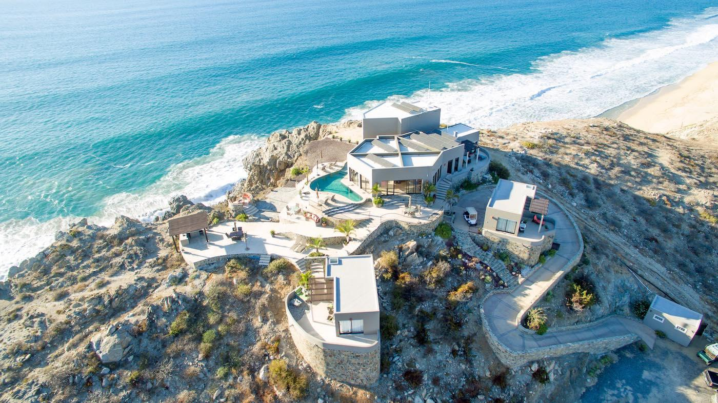 Mansions one of a kind hilltop residence in Mexico