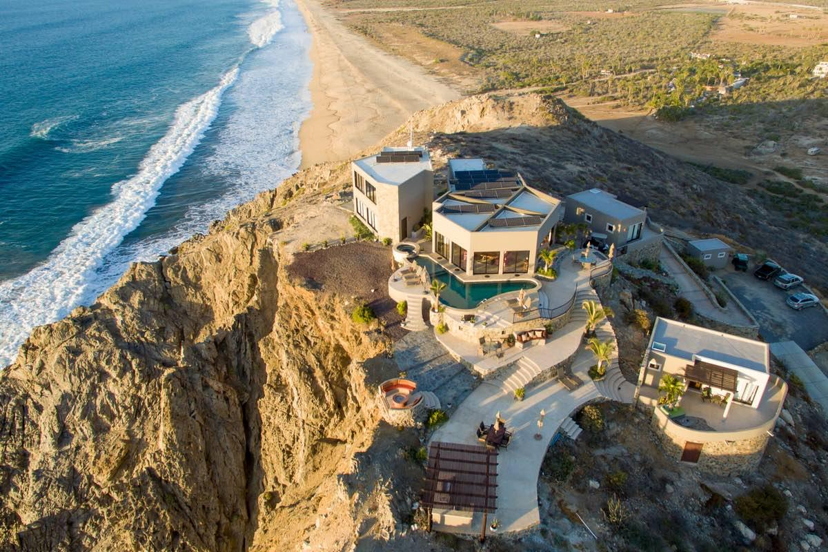 Luxury real estate one of a kind hilltop residence in Mexico