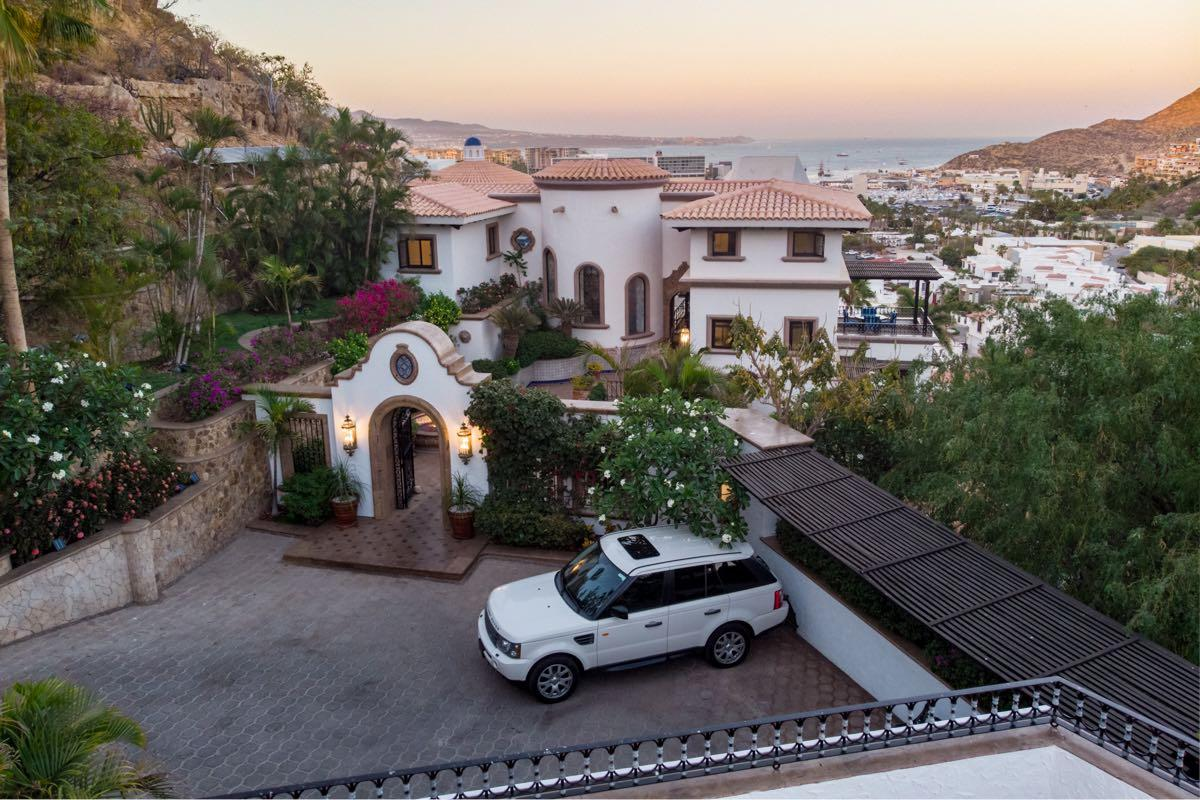 Spanish Colonial in Cabo San Lucas luxury homes