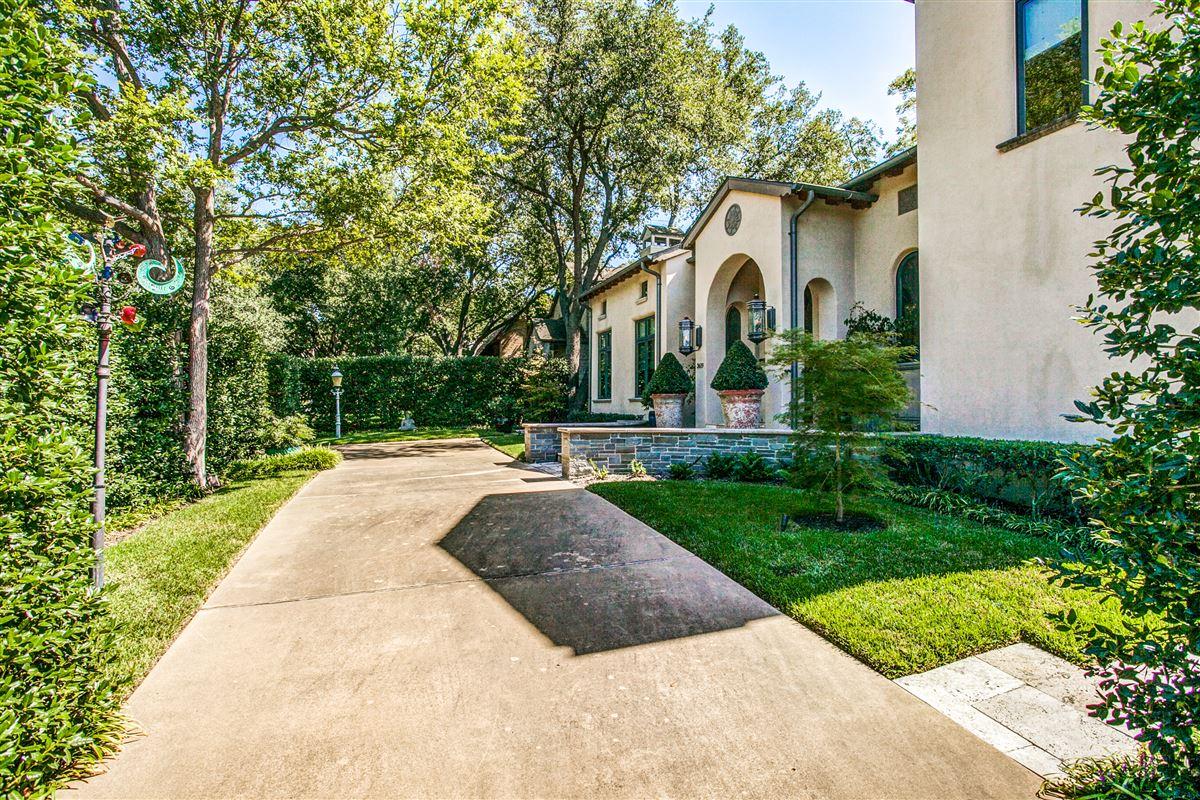 custom home on coveted corner lot luxury homes
