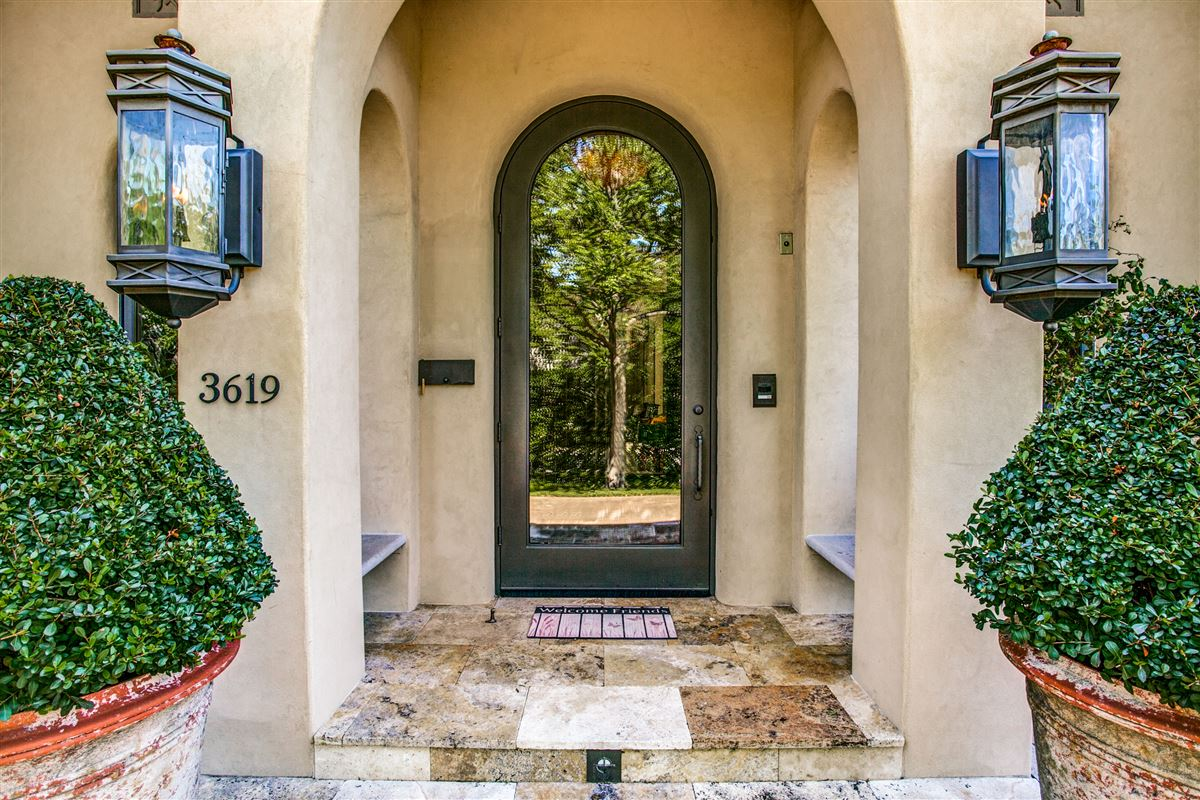 custom home on coveted corner lot luxury real estate