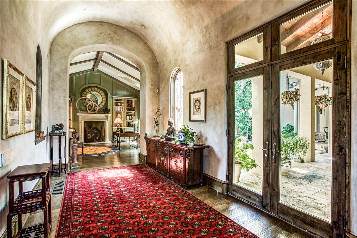 custom home on coveted corner lot luxury properties