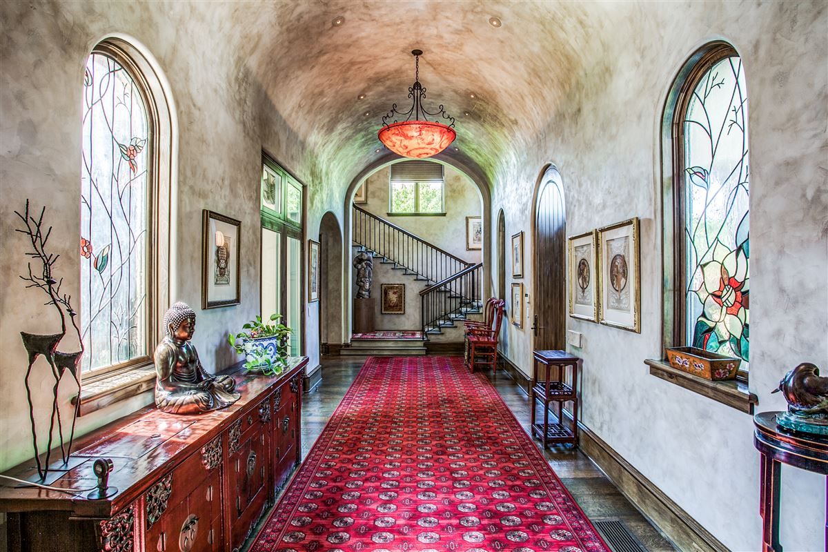 Luxury homes in custom home on coveted corner lot