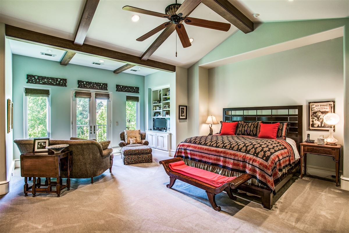 custom home on coveted corner lot mansions
