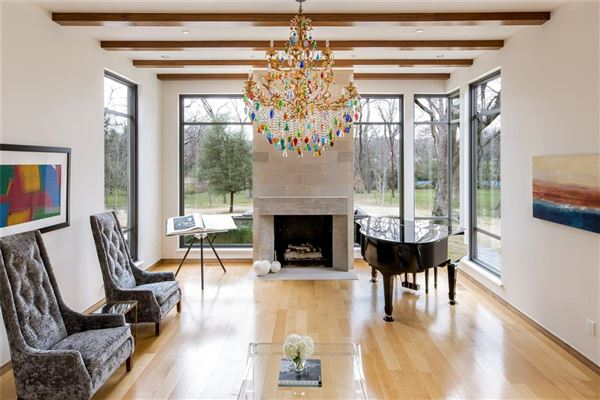 modern-day design in a splendid environment mansions