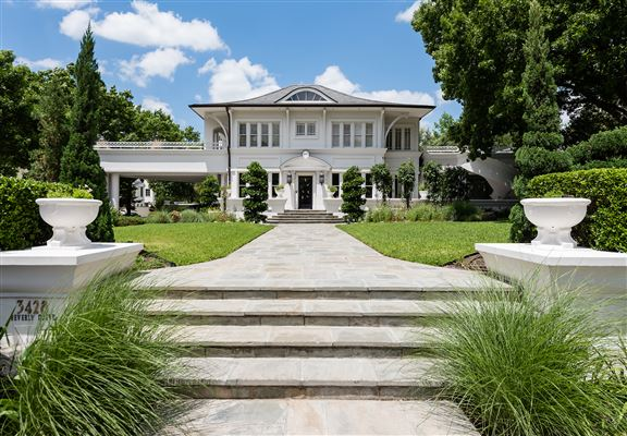 Mansions most distinguished architectural home